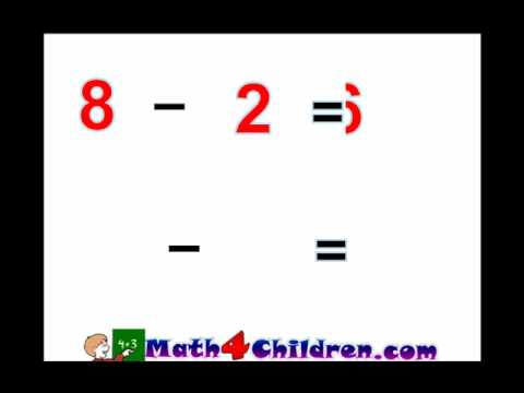 Subtraction Lesson for Kindergarten and 1st Grades