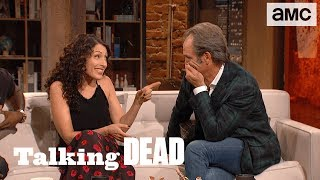 'Steven Ogg on Simon' Highlights Ep. 805 | Talking Dead - AMC