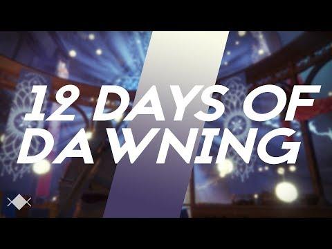 12 Days of Dawning - A Destiny Parody #MOTW