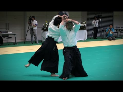 Etsuji Horii (堀井悦二) - Aikido Demonstration - 12th International Aikido Federation Congress (2016)