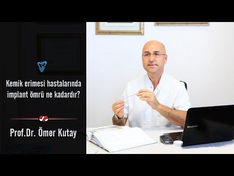 Kemik Erimesi Hastalığı Yaşayanlarda İmplant Ömrü Ne Kadardır? - Prof. Dr. Ömer Kutay
