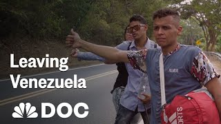 Leaving Venezuela: Walking To Find A Better Life | NBC News - NBCNEWS