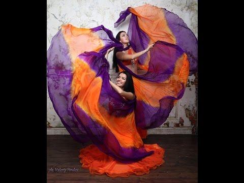 Astman Olesya  belly dance with veil