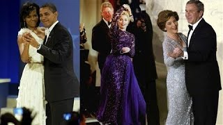 First Lady Fashion: 30 Years of Inaugural Ball Gowns - WSJDIGITALNETWORK