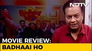 Film Review: Badhaai Ho - NDTVINDIA