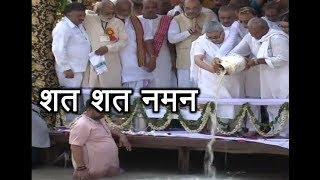 Atal Bihari Vajpayee's remains immersed in Ganga at Haridwar: FULL COVERAGE - ABPNEWSTV