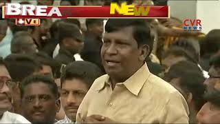 Comedian Vadivelu Pays Tribute to DMK Chief Karunanidhi Demise | CVR NEWS - CVRNEWSOFFICIAL