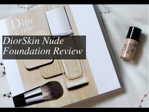 DiorSkin Nude Foundation Review & Demo
