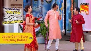 Your Favorite Character | Jethalal Can't Stop Praising Babita | Taarak Mehta Ka Ooltah Chashmah - SABTV