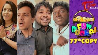 Fun Bucket   77th Copy   Funny Videos   by Harsha Annavarapu   #TeluguComedyWebSeries - TELUGUONE