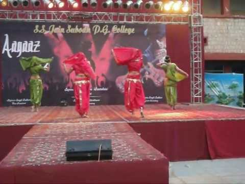 Marathi Mix(Lavani) Dance College Performance