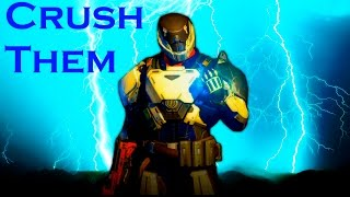 """You're Crushing Them"" Destiny Striker Titan Montage"