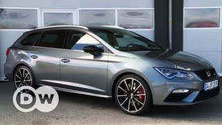 Powerful: Seat Leon Cupra ST | DW English - DEUTSCHEWELLEENGLISH