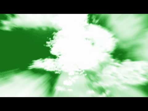 Flying into Clouds - HD Free Animation Green Screen