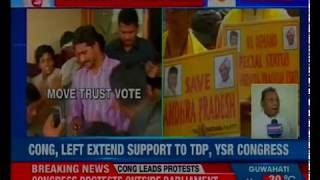 Trust vote drama in Parliament as TDP, YSR Cong moves no-confidence motion against Centre - NEWSXLIVE