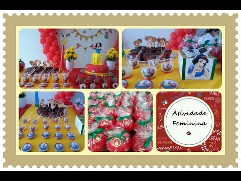 Como fazer decoração de festa infantil - dicas e sugestões - Atividade Feminina