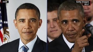 Before and after photos of presidents - CNN