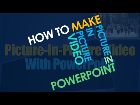 Creating Picture-In-Picture PowerPoint Video For Online Coaching