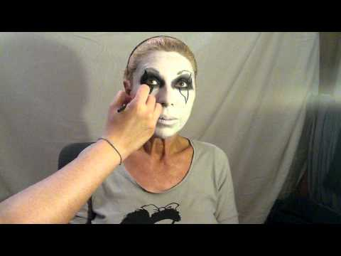 Mete miedo a todos: maquillaje de payaso diabólico