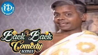 Telugu Movies Back to Back Comedy Scenes || Rajendra Prasad, Seetha || Dabbevariki Chedu Movie - IDREAMMOVIES