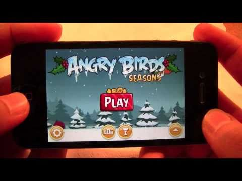 Angry Birds: Seasons iPhone/iPod Touch App Review!