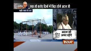 Alvida Atal: Nation remembers former PM Vajpayee, the poet - INDIATV
