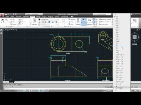 AutoCAD 2012 Introduction Training-1604 Changing the scale assigned to annotations