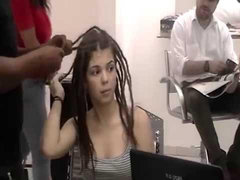 DREAD FEMININO SEM  FRANJA PART 02.MOD