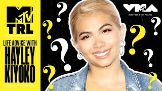 Hayley Kiyoko Reveals Her Skincare Secret & More! | Life Advice | MTV - MTV