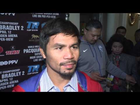 Pacquiao vs Bradley II Media 2014