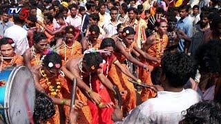 Tribals Celebrates Dandari Festival in Adilabad : TV5 News - TV5NEWSCHANNEL