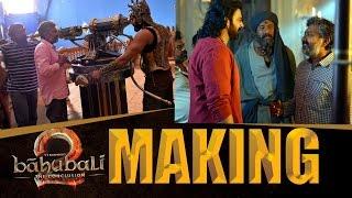 Baahubali 2 Making    #BaahubaliTheConclusion    #Baahubali2    Prabhas    SS Rajamouli    rRana - IGTELUGU