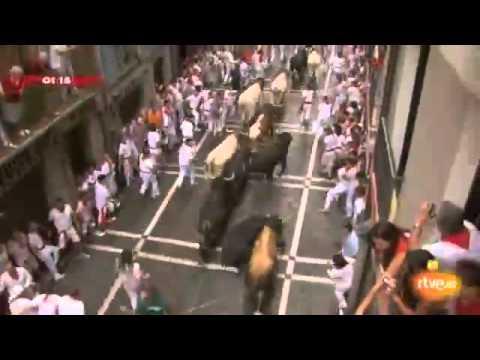 Running of the Bulls San Fermin Festival July 7th 2011