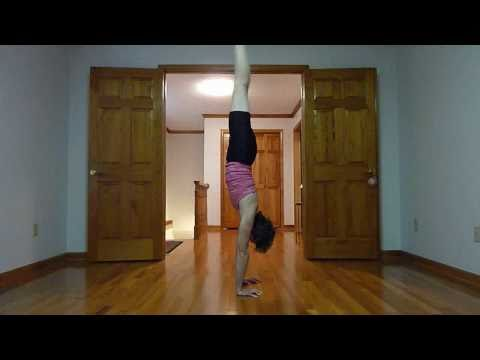 standing splits & scissor switch drill