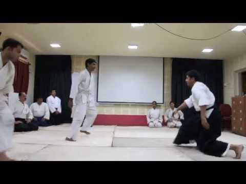 Aikido Demonstration at Jadavpur University