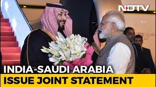 PM Modi, Saudi Prince Condemn Pulwama Attack In Joint Statement - NDTV