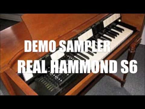 Demo sampler real del Hammond S6 para Musica tropical bailable!!