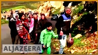 🇸🇾 Air raids 'kill 30' in Eastern Ghouta as 'hundreds' more flee | Al Jazeera English - ALJAZEERAENGLISH