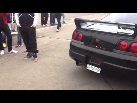 Nissan Skyline GTR R33 exhaust