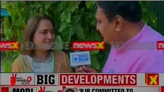Lok Sabha Elections 2019: Jay Prada Exclusive Interview, joins BJP party ahead of the Elections - NEWSXLIVE