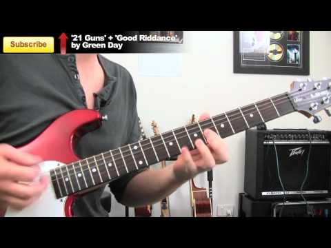 'Party In The USA' Miley Cyrus - Ultra Easy Electric Guitar Lessons - Song Tutorial  / Cant Be Tamed