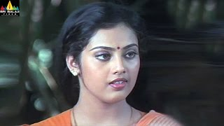 Rhythm Movie Meena and Arjun at Police Station Scene   Telugu Movie Scenes   Sri Balaji Video - SRIBALAJIMOVIES