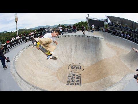 Pedro Barros & Co Shred the Santo Bowl Raw   Vans Park Series: Brazil