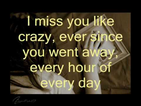 miss you like crazy lyrics natalie Cole