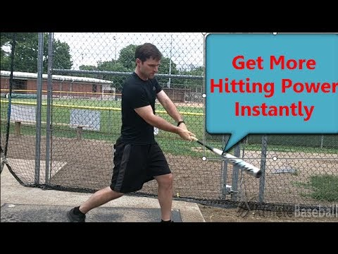Hitting Drills For Baseball: How to Hit a Baseball with Power