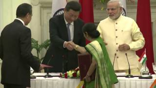 See the news report video by The Heat: China-India Summit aims for bi-national prosperity pt. 1