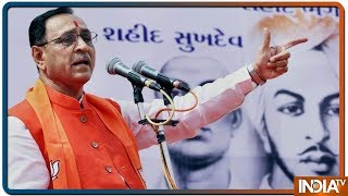Gujarat CM Vijay Rupani Says It Will Be Diwali Celebrations For Pak If Congress Wins By Mistake - INDIATV