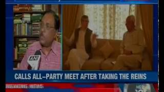 J&K governor NN Vohra takes stock of J&K, calls all-party meet after taking the reins - NEWSXLIVE