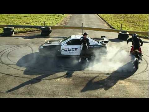 Silvia S15 - Police & Honda CBR1000 - Clip - Drift
