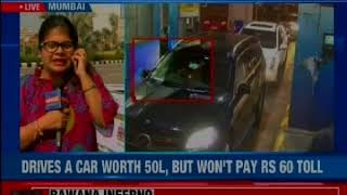 Mercedes SUV owner booked for cheating & forgery; Mercedes driver caught in Mumbai - NEWSXLIVE